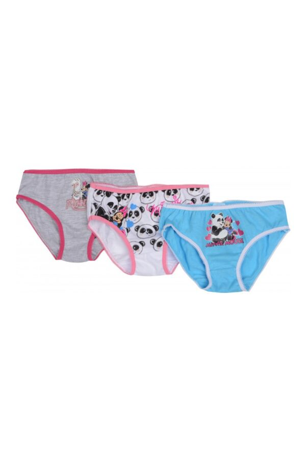 Set 3 perechi chiloti fete Minnie Mouse Panda intre 2-5 ani JA01