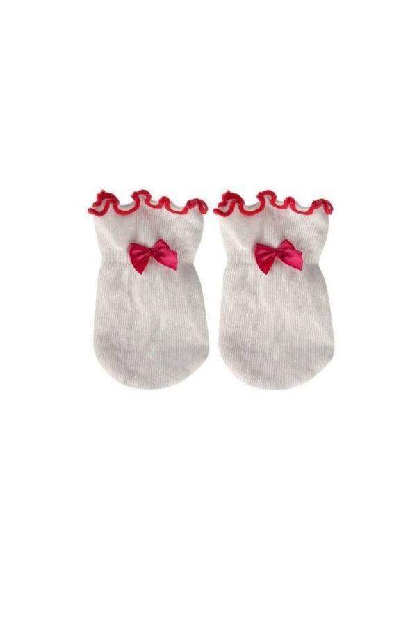 Manusi bebelusi cu fundite roz, 0-3 luni, Soxo